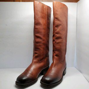Lucky Brand | Brown Leather Tall Boots 7.5